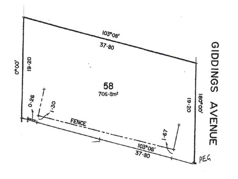 Lot 58 Giddings Avenue, Tea Tree Gully, SA 5091