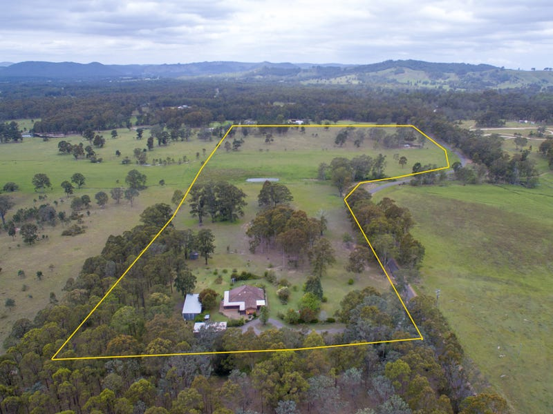164 Wallarobba - Brookfield Road, Brookfield via, Clarence Town, NSW 2321