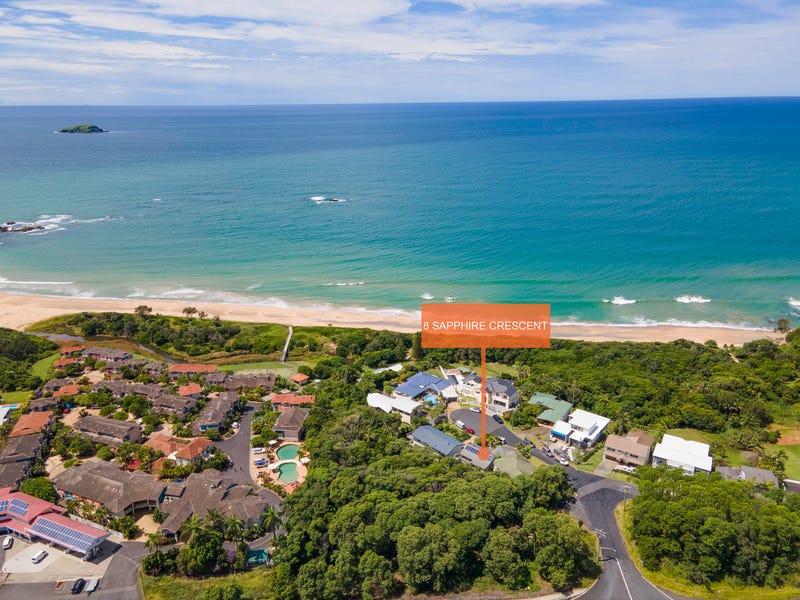 8 Sapphire Crescent, Sapphire Beach, NSW 2450