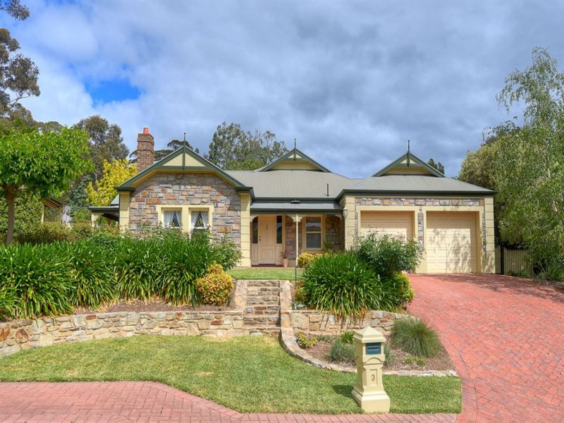 3 Corella Avenue, Chandlers Hill, SA 5159