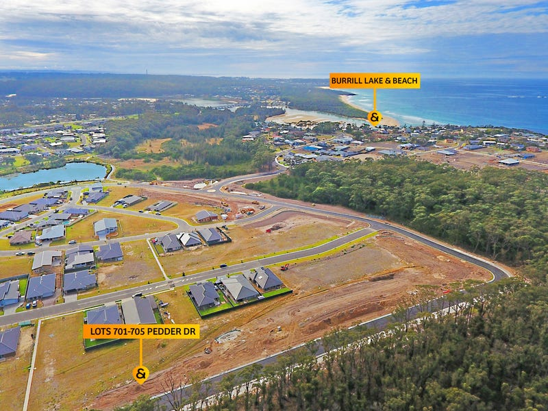 Lots Pedder Drive & Macquarie Drive ( The Lakes Estate), Burrill Lake, NSW 2539