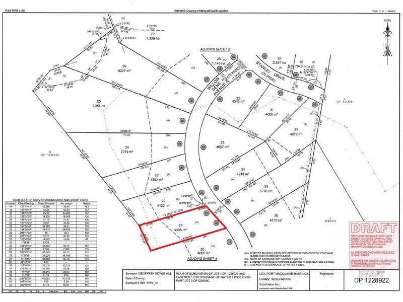 Lot 21 Beechwood Meadows, Beechwood Via, Wauchope