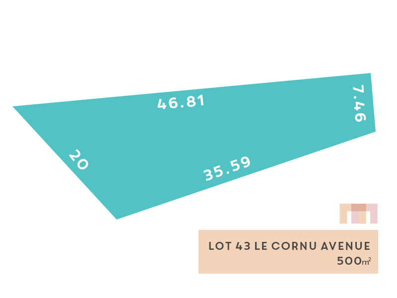 Lot 43, Le Cornu Avenue (Morphettville), Morphettville, SA 5043