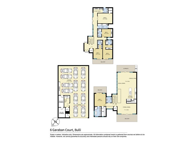 6 Garaban Court, Bulli, NSW 2516 - floorplan