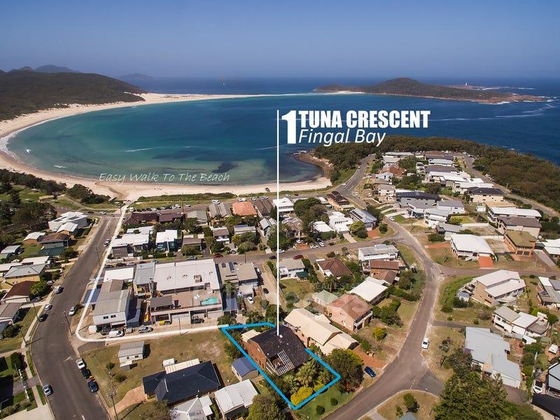 1 Tuna Crescent, Fingal Bay, NSW 2315