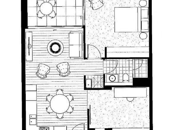 16/1 Harbour Street, Sydney, NSW 2000 - floorplan
