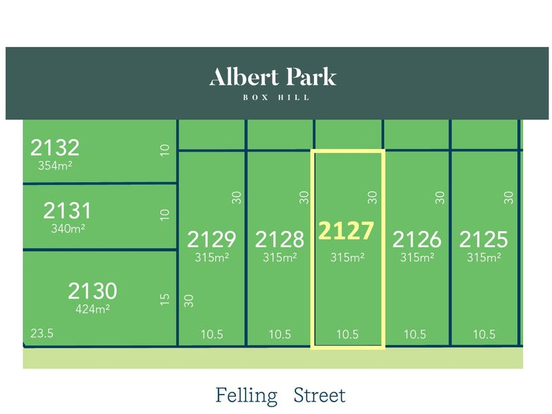 Lot 2127, Felling Street, Box Hill, NSW 2765