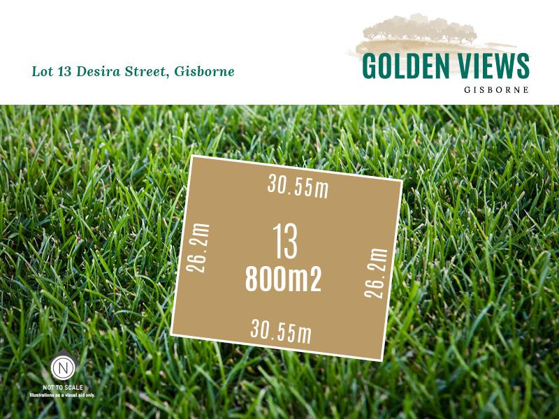 Lot 13, Desira Street (Golden Views), Gisborne, Vic 3437