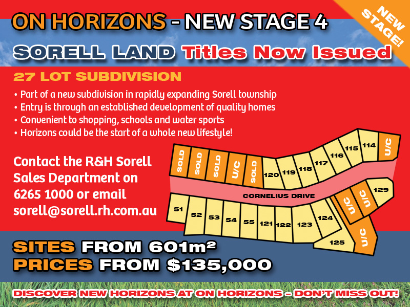 Lot 120 'On Horizons', Cornelius Drive, Sorell, Tas 7172