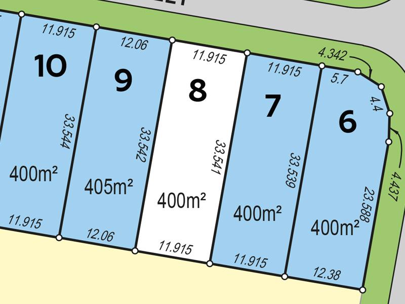 Lot 8, Ladbroke Street, Wakerley, Qld 4154 - Residential Land for