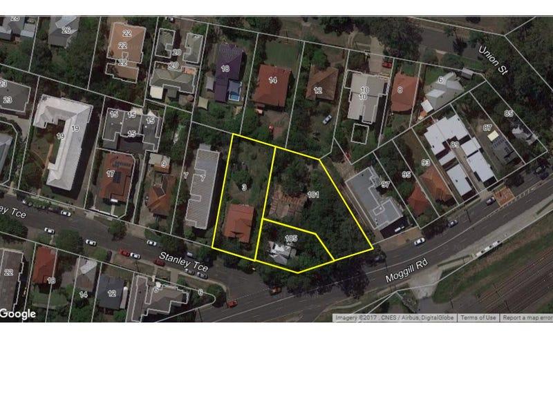 3 Stanley Terrace, 101 & 105 Moggill Road, Taringa