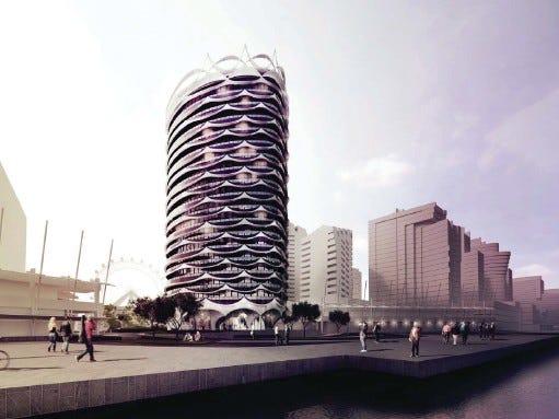 1006/Newquay Newquay Promenade Center, Docklands