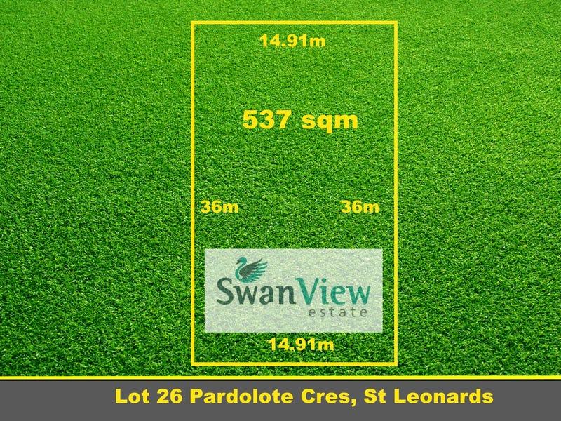 Lot 26 Pardolote Crescent, St Leonards, Vic 3223