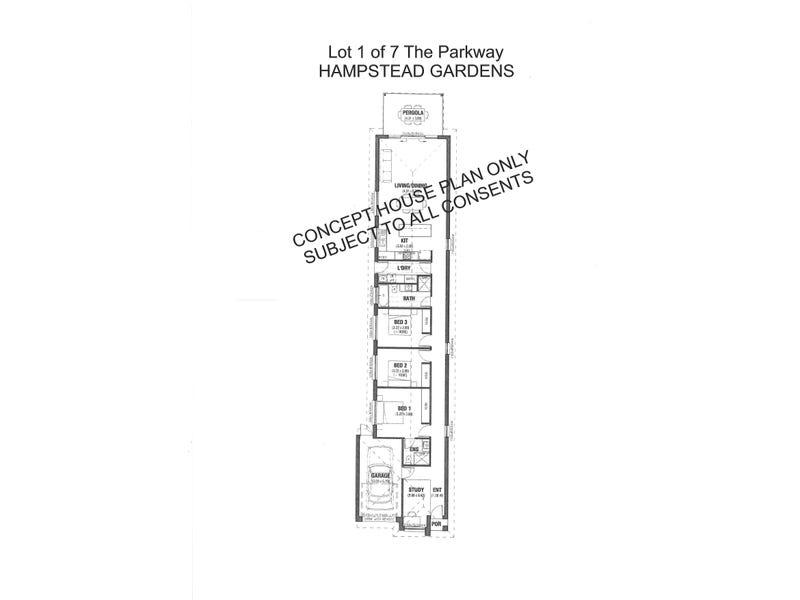 Lot 2 of 7 The Parkway, Hampstead Gardens, SA 5086