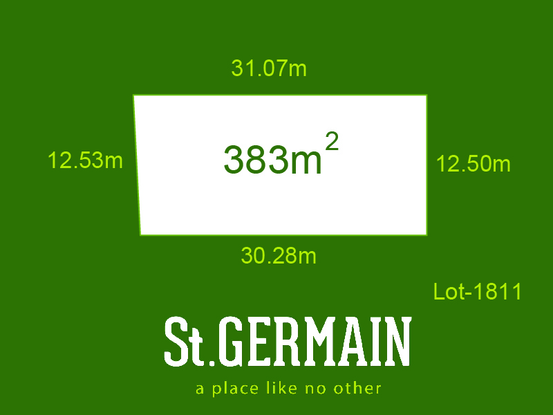 Lot 1811, St Germain, Clyde North, Vic 3978