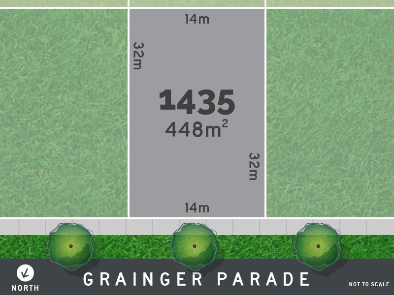 Lot 1435, Grainger Parade, Lucas, Vic 3350