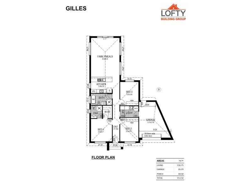 Lot 2, No. 1 Kanbara Street, Flinders Park, SA 5025 - floorplan