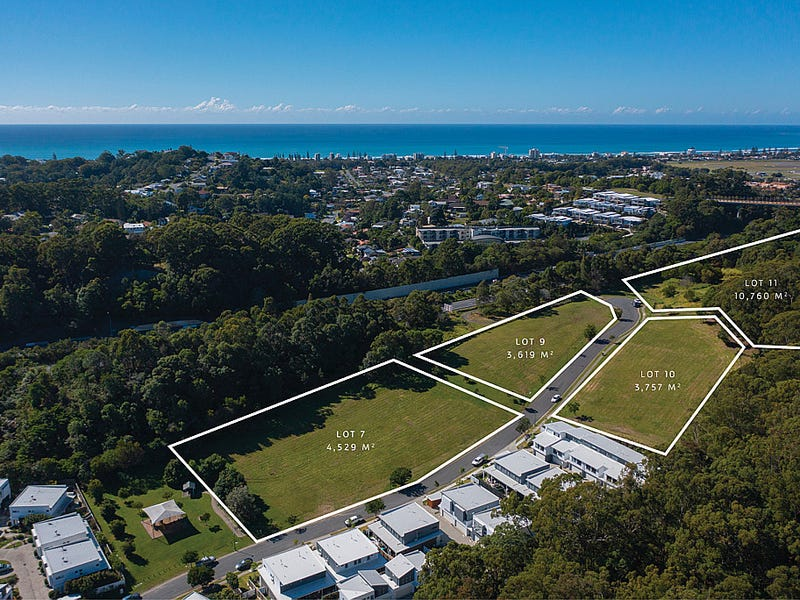 Lots 7, 9, 10 and 11 Border Drive North, Currumbin Waters, Qld 4223