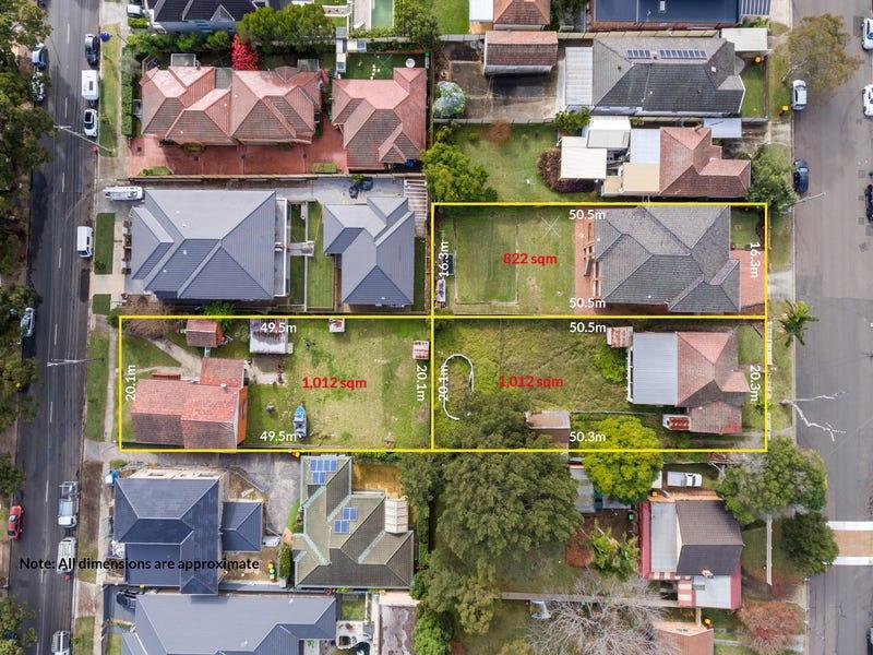 36 & 34 Myall St and 35 Gungah Bay Rd, Oatley, NSW 2223