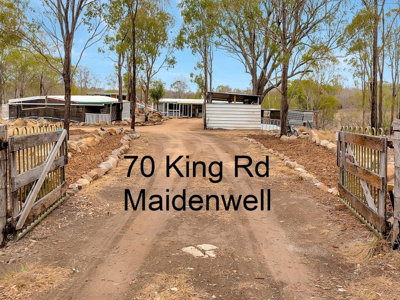 70 King Road, Maidenwell, Qld 4615
