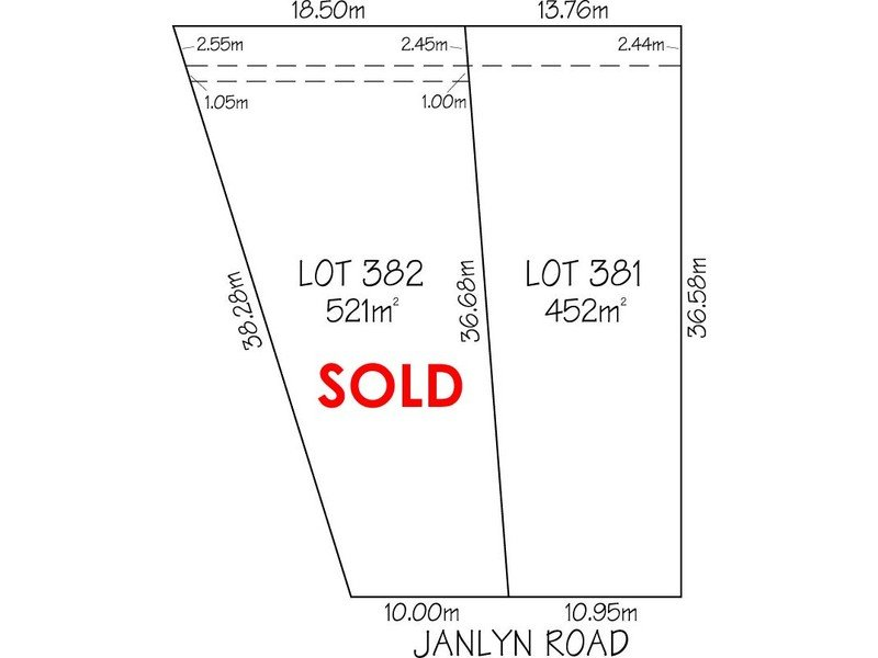 Lot 381 & 382, 32 Janlyn Road, Vista, SA 5091
