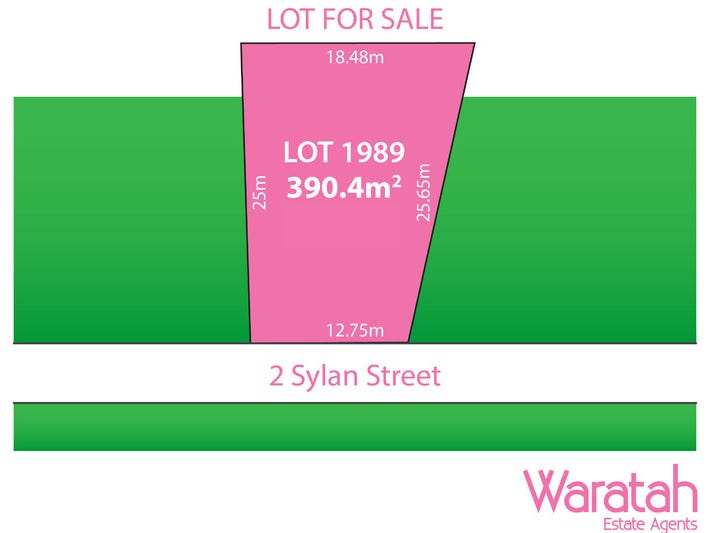 Lot 1989, 2 Sylan Street, Marsden Park, NSW 2765