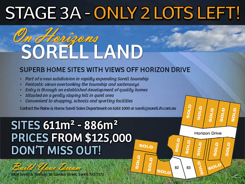 Lot 82 On Horizons, Sorell, Tas 7172