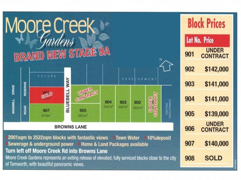 Lot 908 Blue Bell Way, Moore Creek, NSW 2340