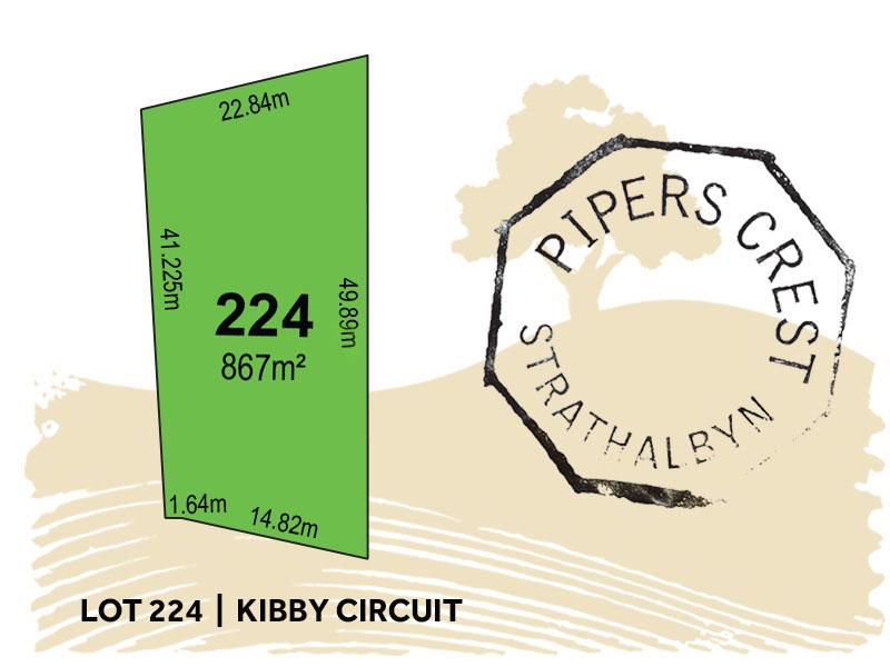 Lot 224, Kibby Circuit, Strathalbyn, SA 5255