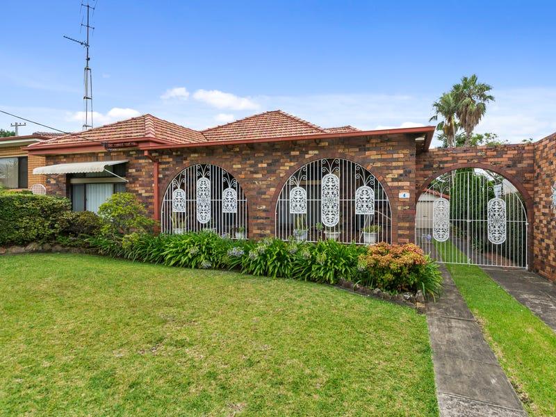 4 Caldwell Avenue, Tarrawanna, NSW 2518
