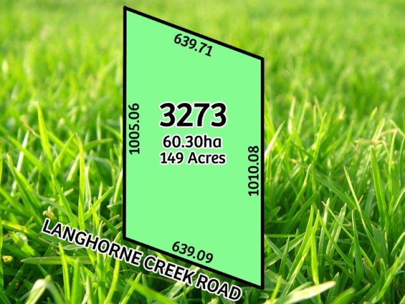3273 Langhorne Creek Road, Langhorne Creek, SA 5255