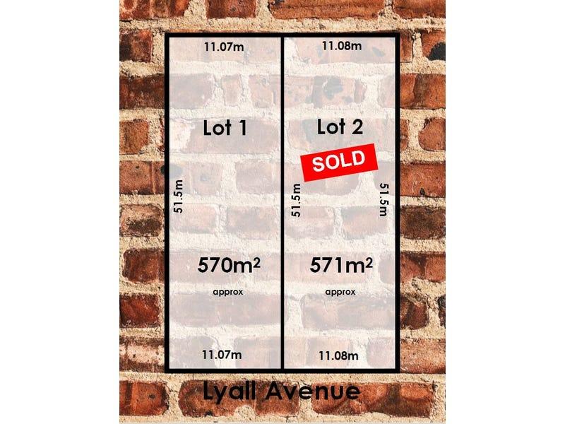 Lots 1 & 2, 1 Lyall Avenue, Panorama, SA 5041