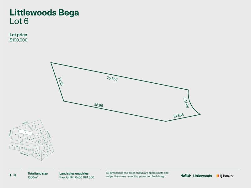 Lot 6 Littlewood Estate, Bega, NSW 2550