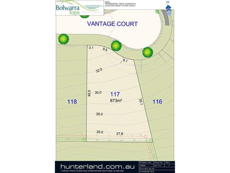 Lot 117 Vantage Court, Bolwarra Heights, NSW 2320