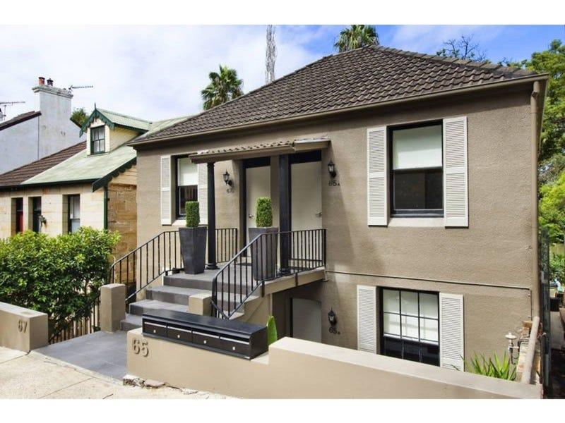 65A BROUGHTON STREET, Kirribilli, NSW 2061