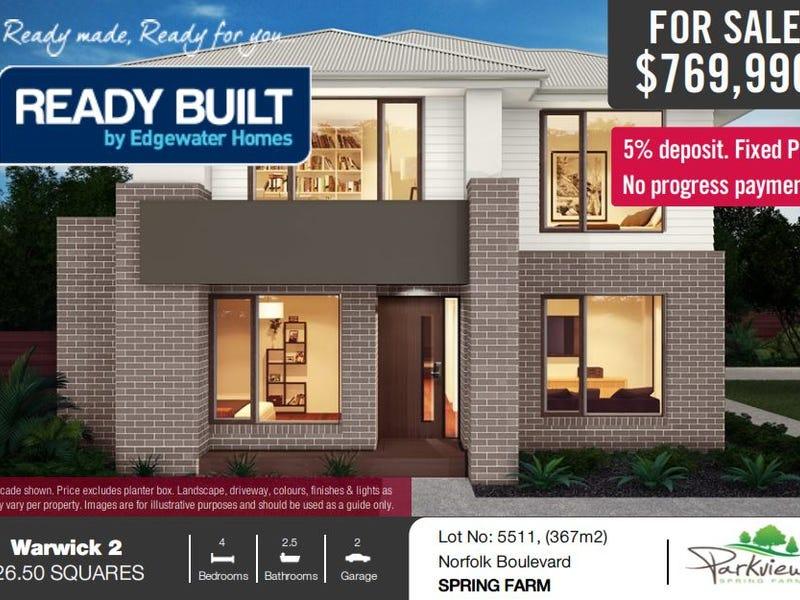 Lot No.5511 Norfolk Boulevard, Spring Farm, NSW 2570