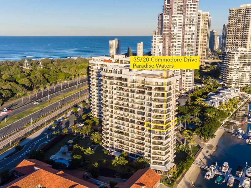 35/20 Commodore Drive, Paradise Waters, Qld 4217