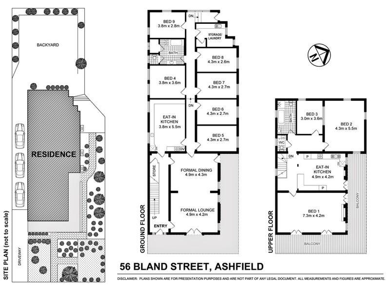 56 Bland Street, Ashfield, NSW 2131 - floorplan
