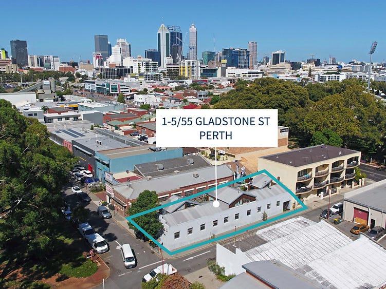 1-5/55 Gladstone Street, Perth, WA 6000
