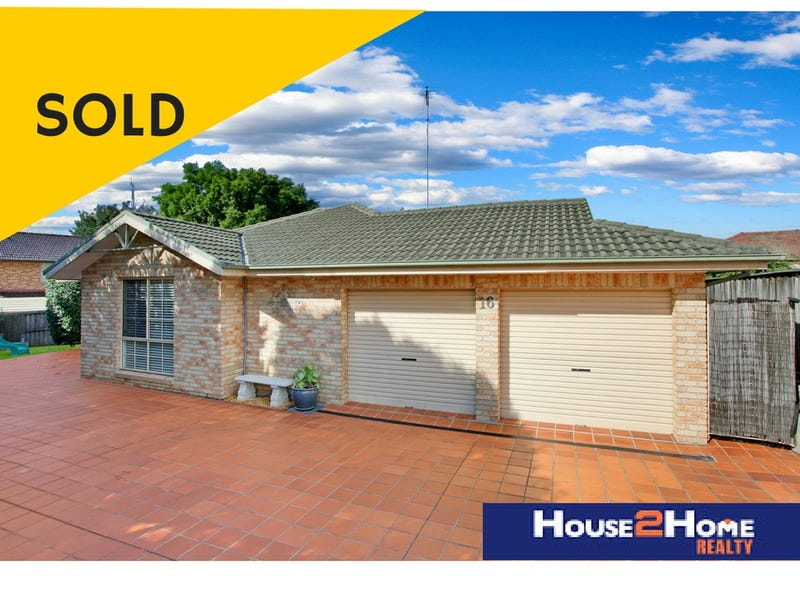 16 Blundell Cct, Kellyville, NSW 2155
