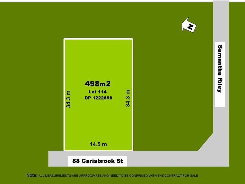 Lot 114 Carisbrook Street, Kellyville, NSW 2155