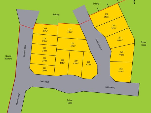 Lot 226, 13 Mazeppa Drive, Dudley Park, WA 6210