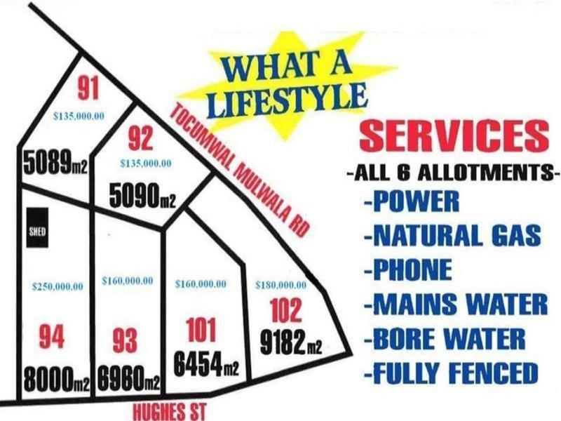 Lot 91, 92, 93, Hughes Street - Vision Estate, Barooga