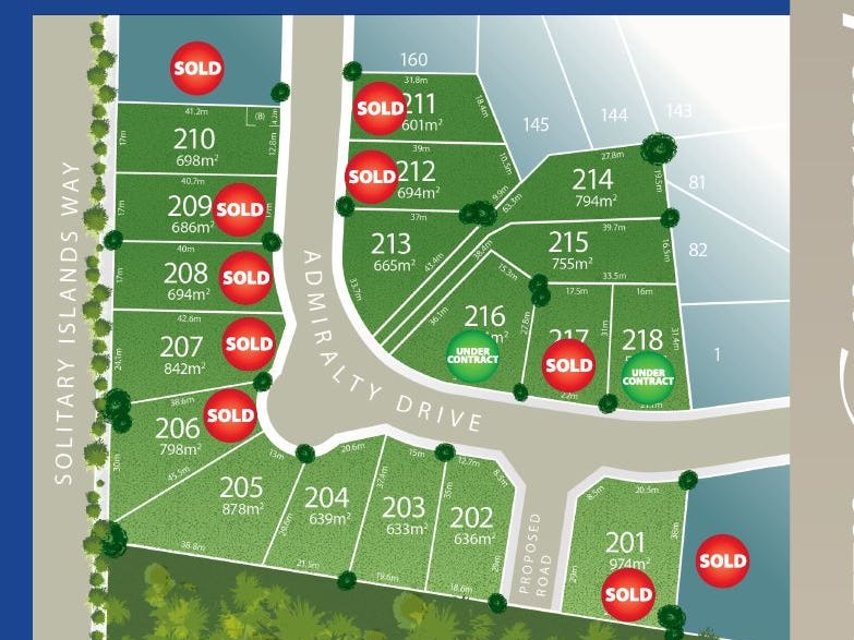 Lot 216 Admiralty Drive - Stage 11, Safety Beach, NSW 2456