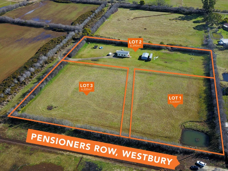 Lot 1 & 3 264 Pensioners Row, Westbury