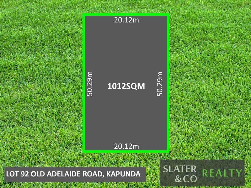 Lot 92, Old Adelaide Road, Kapunda, SA 5373