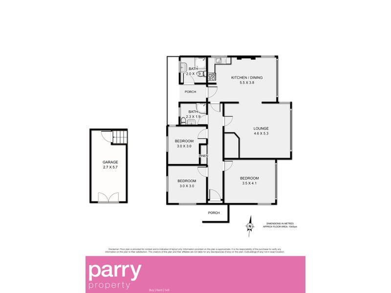 147 Flinders Street, Beauty Point, Tas 7270 - floorplan