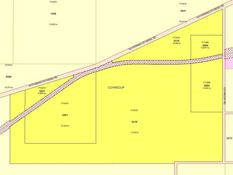 Newmans Block, Katanning-Nyabing and Coyrecup Rd, Coyrecup, WA 6317