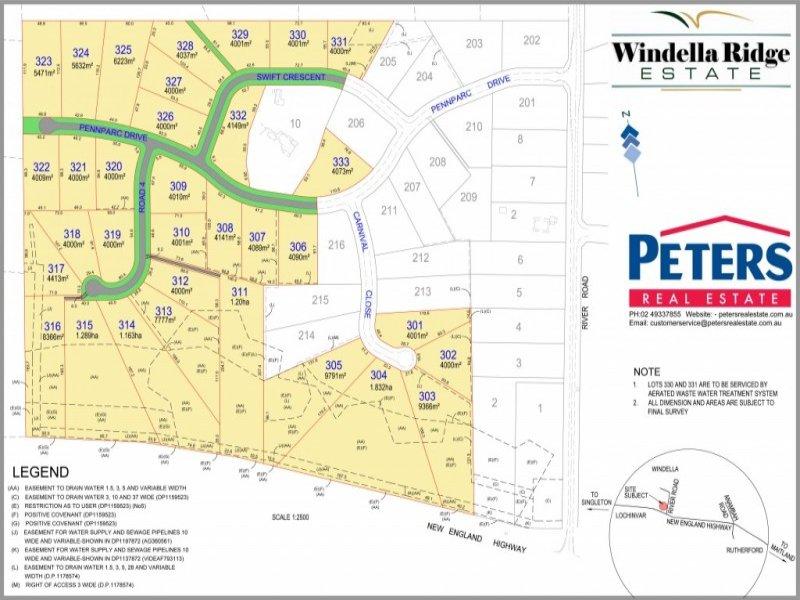 Lot 312 Windella Ridge, Windella, NSW 2320
