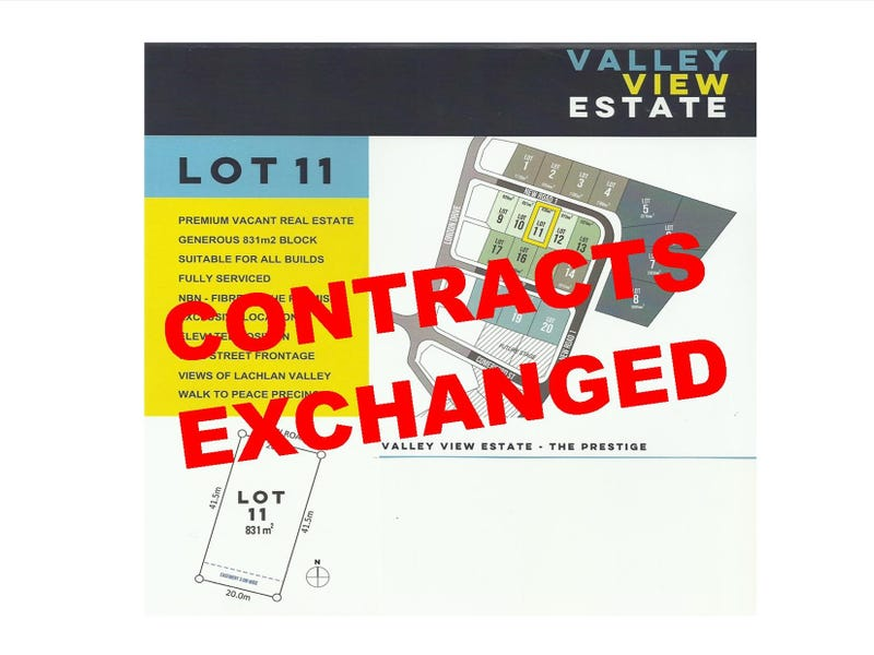 LOT 11 VALLEY VIEW ESTATE, Cowra, NSW 2794